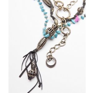 Free People Coastal Storms Layered Necklace